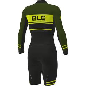Alé Cycling PRS Fango Skinsuit Herrer, black-green-fluo yellow